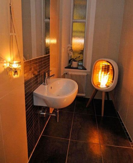 bathroom heating solutions an exle of a very inexpensive bathroom heating solution portablefireplace