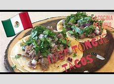 How To Make Beef Tongue Tacos (Tacos De Lengua) - YouTube Lengua
