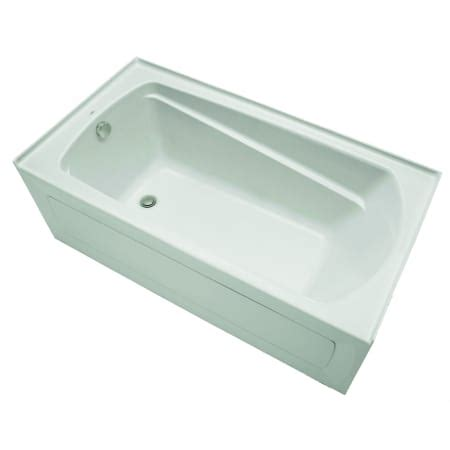 mirabelle bathtubs mirabelle mirbds6032lwh white bradenton 60 quot x 32 quot three