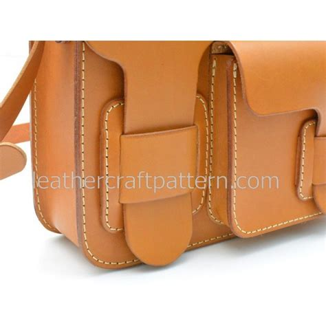 download pattern leather bag leather bag pattern messenger bag pdf acc 24 leather craft