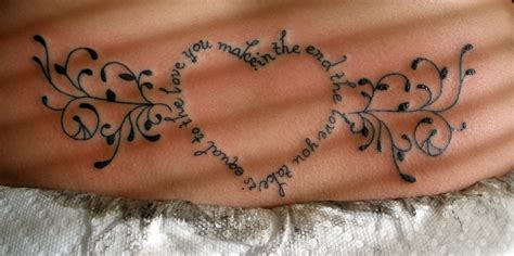 love you more tattoo six lessons everyone should learn cheaper than therapy