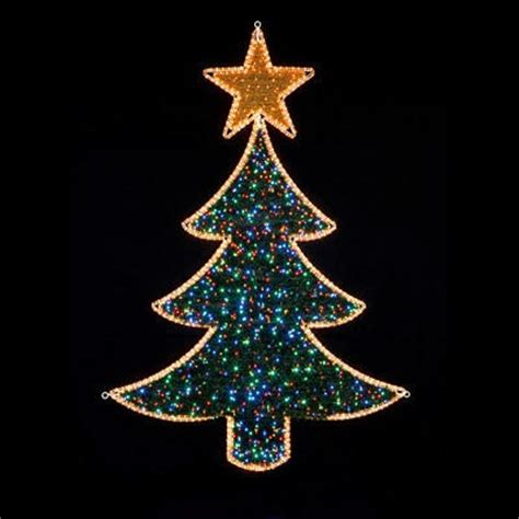 premier 2 1m flashing led christmas tree rope light