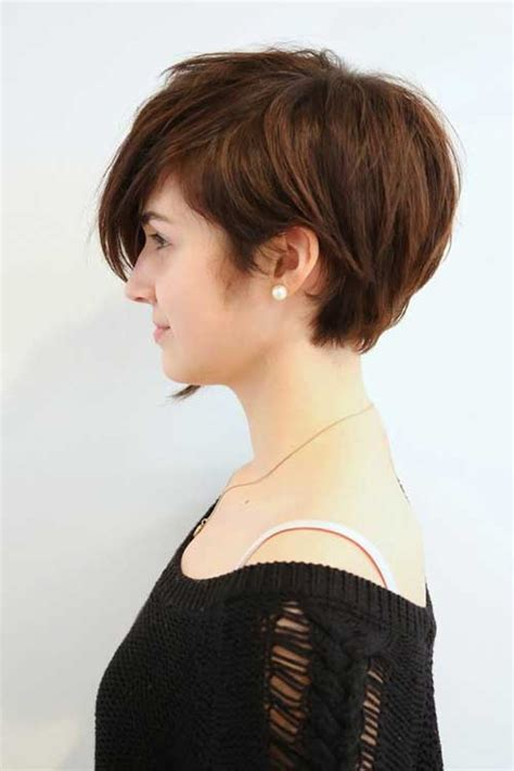 haircuts for woemen one side the other 18 simple easy short pixie cuts for oval faces pretty