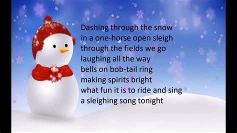 jingle bell testo italiano testo jingle bells inglese 28 images testo jingle