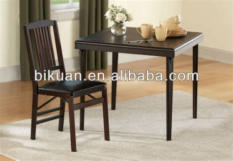 square wood kitchen table bq square folding wooden kitchen table and chair buy
