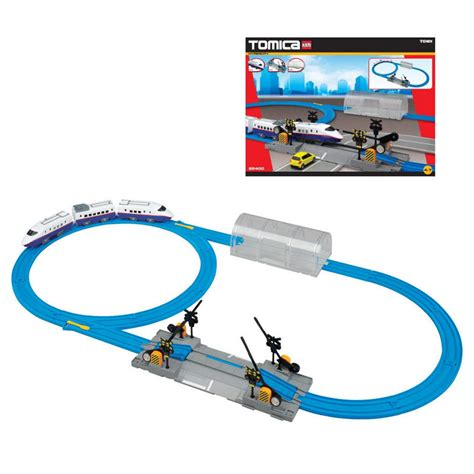 Clear Tunnel Tomica Hypercity tomy tomica hypercity motorised starter rail vehicle play set