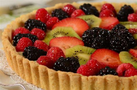 fruit tart recipe video joyofbaking com video recipe