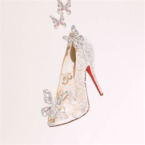 louboutin glass slipper christian louboutin creates cinderella s glass slipper flare