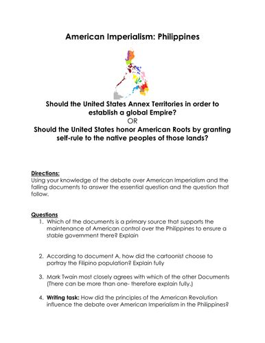 Should The Us Annexed The Philippines Dbq Essay by The Alamo Legend Puzzle By Sfy773 Uk Teaching Resources Tes