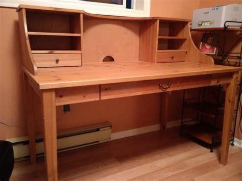 ikea alve schreibtisch ikea alve wood desk with ikea joel wood chair saanich