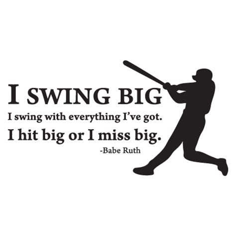 swing quotes sayings swing big wall quotes decal wallquotes