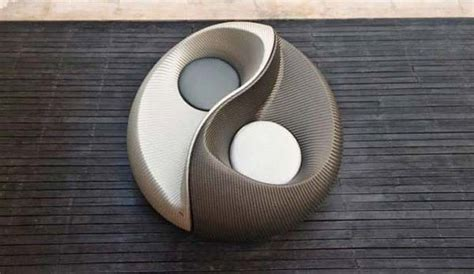yin yang sofa creative sofa design inspired by ancient chinese culture