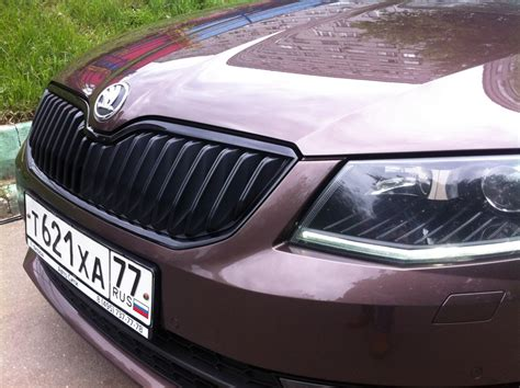 Sen Grill Chrome replacement grille edging on skoda octavia a7 logbook