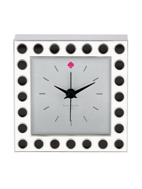 kate spade desk clock kate spade office desk clock black and white polka dots
