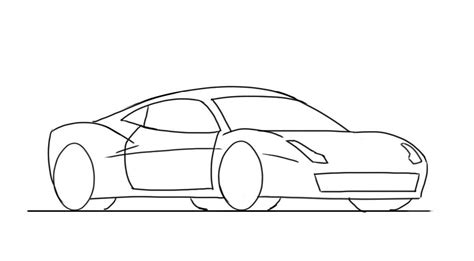 You Can Draw Cars how to draw a 458 junior car designer
