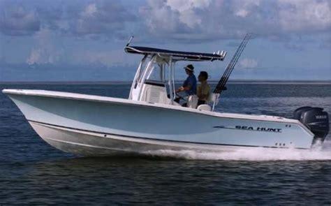 sea hunt fishing boats for sale 2007 used sea hunt triton 260triton 260 saltwater fishing