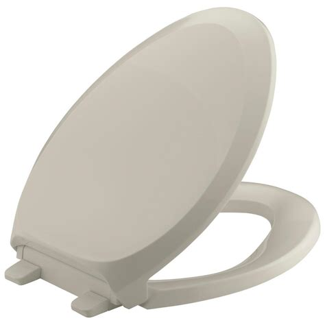 kohler french curve quiet close elongated toilet seat