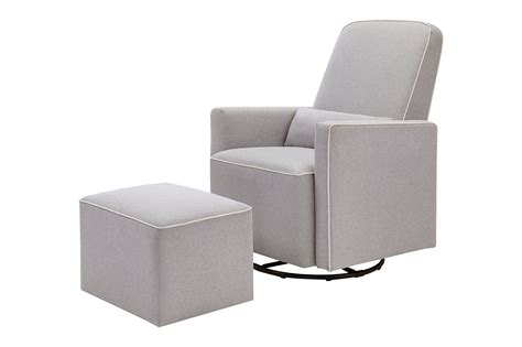davinci olive upholstered swivel glider with bonus ottoman grey best in nursery glider ottoman sets helpful