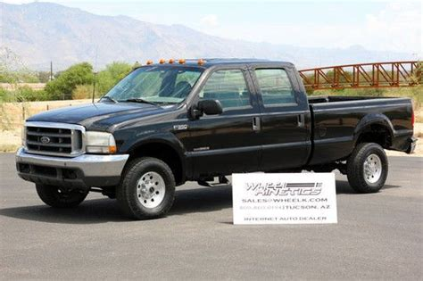 find used 2000 ford f350 manual 4x4 diesel crew cab 6 speed 7 3l 4wd rare see video in tucson