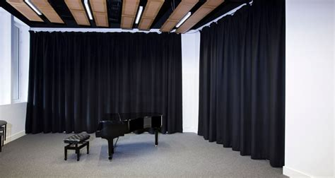 acoustic drape what best types of sound absorbing curtains for