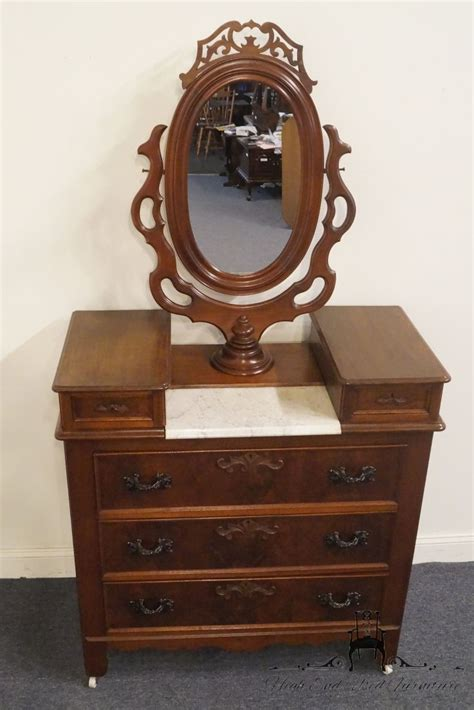 antique victorian dressers with mirrors victorian walnut marble high end used furniture antique victorian walnut dresser