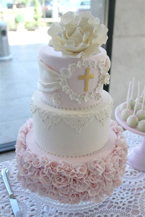 Religious Easter Decorations For The Home by Baptism And Christening Cakes B Lovely Events