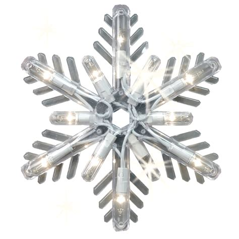 sparkle snowflake icicle christmas lights decorate with kmart