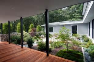 House Plans With A Wrap Around Porch modern japanese farmhouse weston asian landscape
