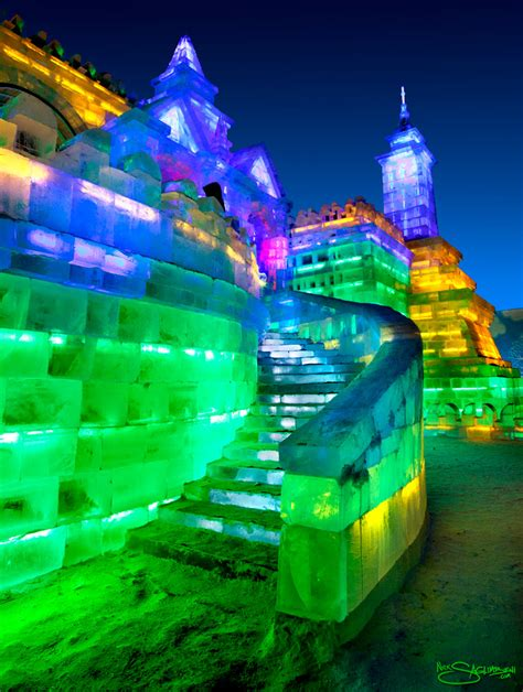 ice city harbin china and the city of ice nick saglimbeni