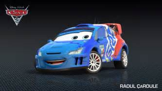 new cars of the world access pixar new cars 2 character raoul caroule