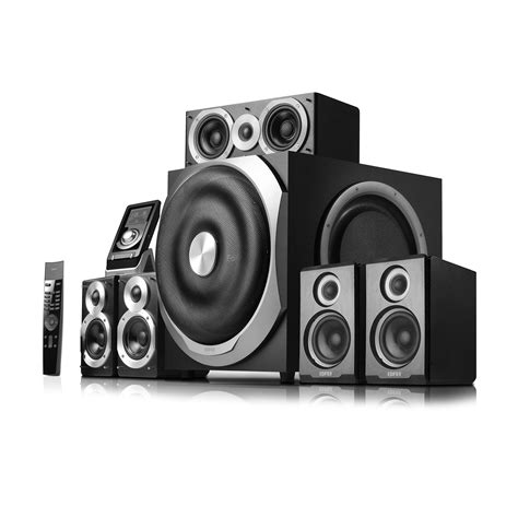 edifier speaker s760d 5 1 s760d 5 1 surround sound speakers subwoofer edifier usa
