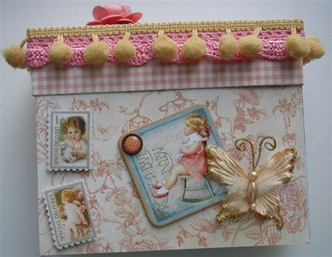 Handmade Baby Book - ooak handmade rock a bye baby scrapbook photo album