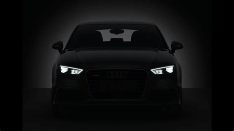 audi headlights poster audi a3 2018 headlights test