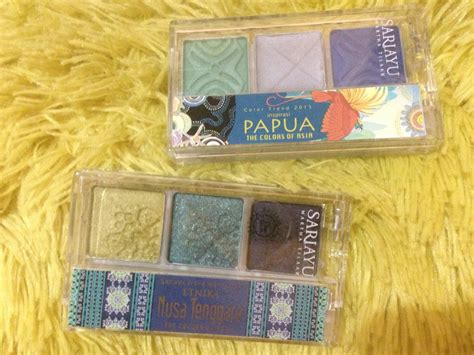 Sariayu Eyeshadow Papua Review noonaclassic review eyeshadow sariayu color tren trend