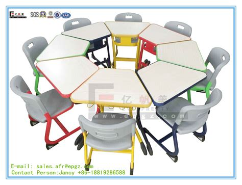 Desk For Kindergarten by Kindergarten Table And Chair Durable Study Desk Chair