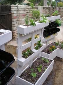 diy planters 25 vertical and box recycled pallet planters pallet furniture diy