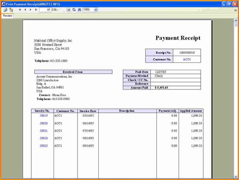 free template for receipt of payment template free printables payment receipt payment receipt