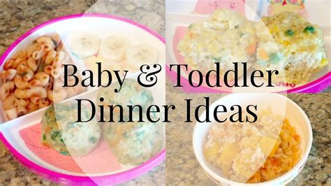 dinner recipes for 8 dinner ideas for toddler and baby