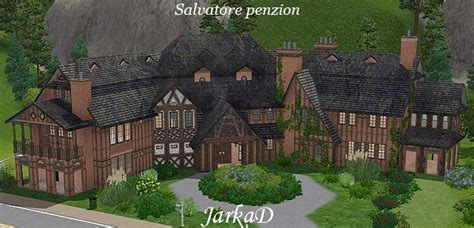the salvatore house salvatore penzion boarding house jarkad sims3 blog
