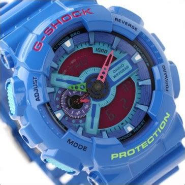 Casio G Shock Ga 110hc 6adr Large Hyper Colors buy casio g shock hyper colors analog digital display ga 110hc 2a ga110hc buy watches