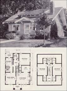 8 Gladstone Floor Plans by The Gladstone 1923 Standard Homes Company House Plans
