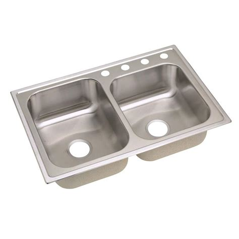 Tecnogas Ts801vd Top Mount Sink elkay signature drop in stainless steel 33x22x8 25 4 bowl kitchen sink slpf2504