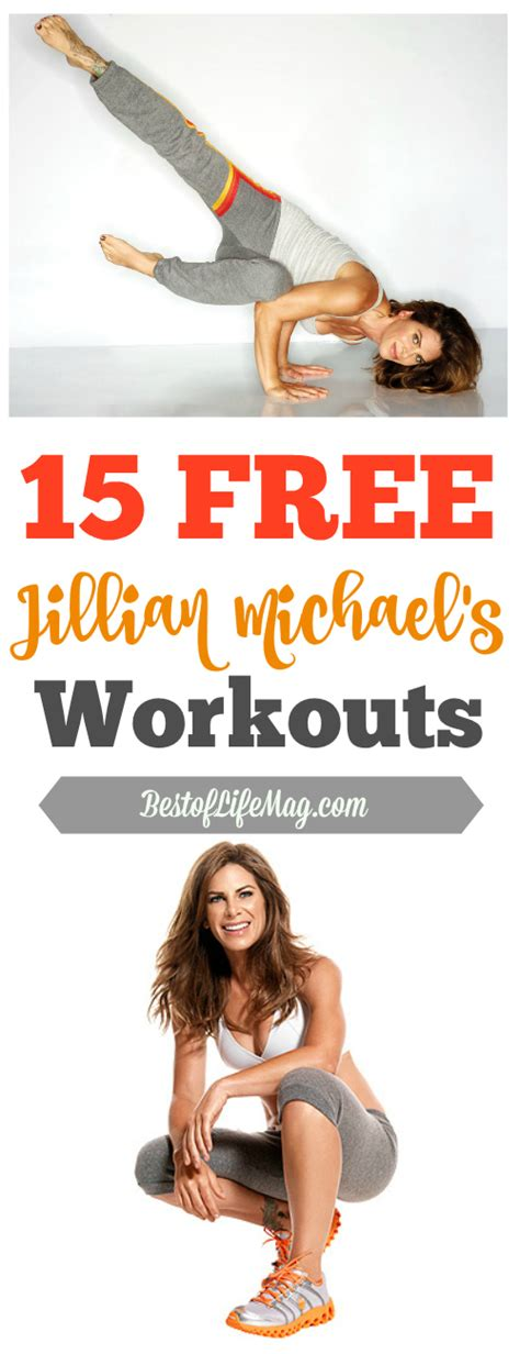 15 free jillian workouts the best of magazine