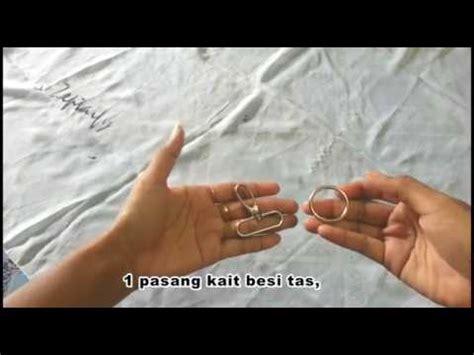 youtube tutorial tas tutorial tas tali kur membuat tali tas dengan cangklongan