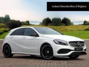 mercedes a class a 180 d amg line premium plus white