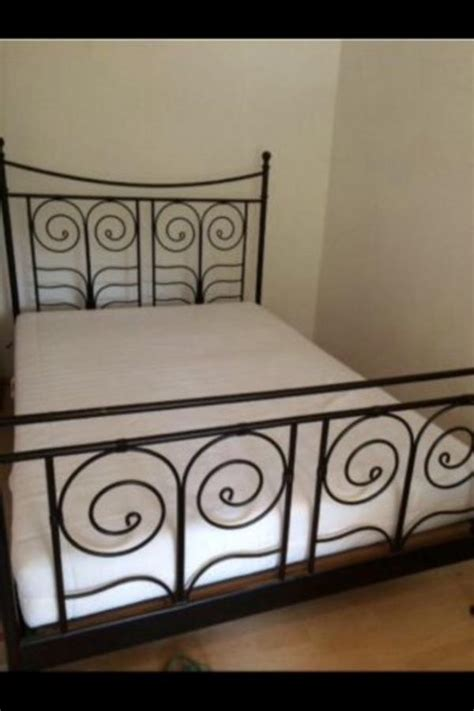 ikea bett noresund neupreis metallbett neu und gebraucht kaufen bei dhd24