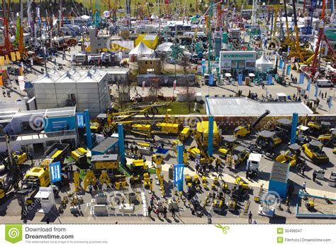 a place for all architecture and the fair society books trade fair for building machines editorial photography
