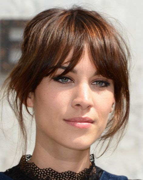hair style for minimun hair on scalp 25 best ideas about fringe bangs on pinterest fringe