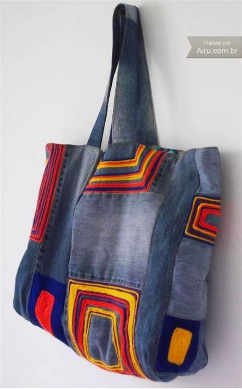 Denim Patchwork Bag Patterns Free - 575 best images about bags totes purses on