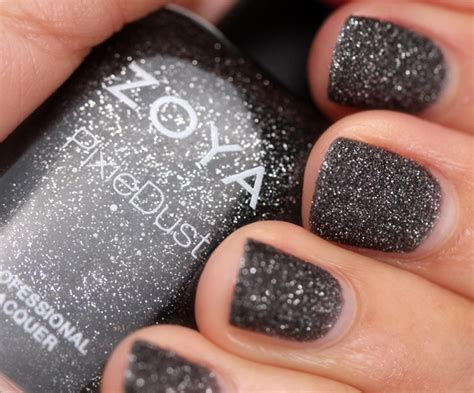 zoya 226 s pixie dust nail in dahlia makeup and